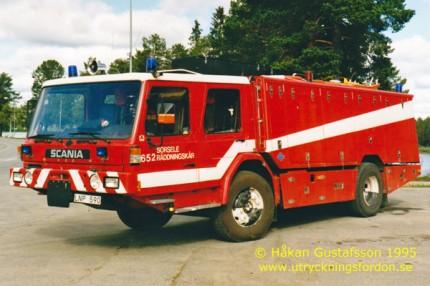 Prototyp till BAS bil (Scania)