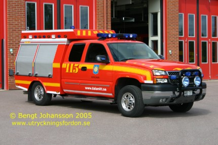 Räddningsbil Chevrolet Silverado