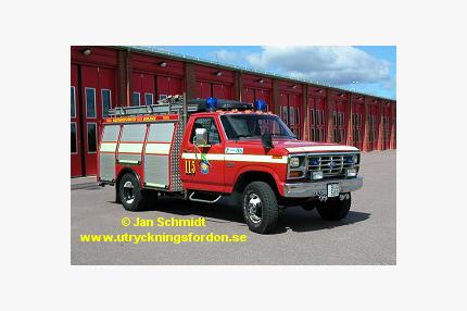 Räddningsbil Ford F 350