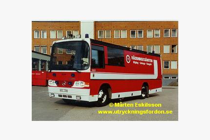Räddnings-/skyddsbuss Mercedes-Benz LN 1120