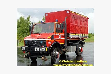 Lastväxlare anpassad för järnväg MB Unimog U 1650