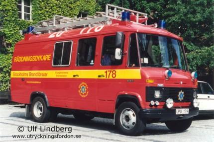 Dykarbil Mercedes-Benz L613