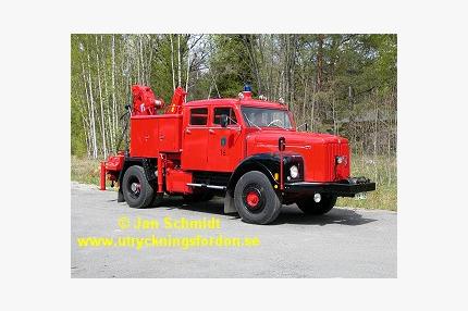 Kran-/räddningsbil Scania-Vabis L 76
