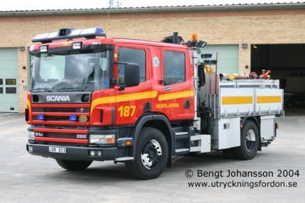 Förstärknings-/räddningsbil Scania P 94 GB 260 4x2