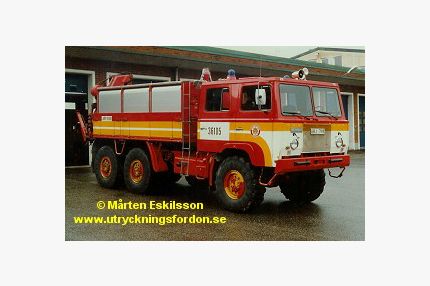 Räddnings-/-kranbil Scania SBAT 111 6x6