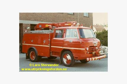 Kran-/räddningsbil Volvo