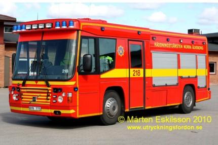 Räddningsbil Volvo B10 M Firebus