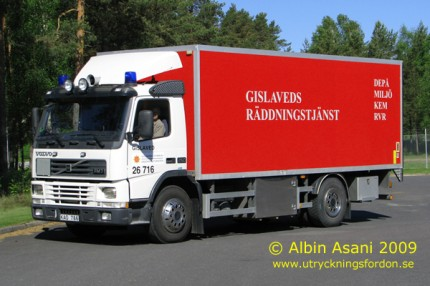 Depåbil Volvo FM 7