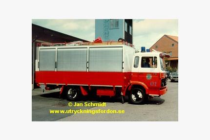 Skyddsbil Volvo F 610