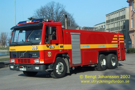 Volvo FL 12 intercooler 6x4