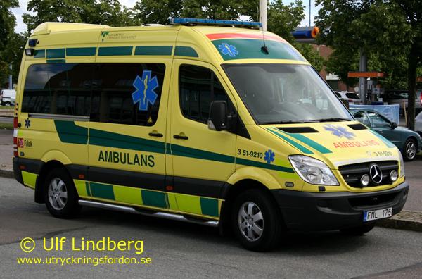 Ambulanser Svensk Utryckningsfordonsf 246 Rening
