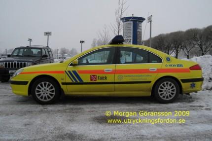 Peugeot 607 2,2 (Befälsbil)