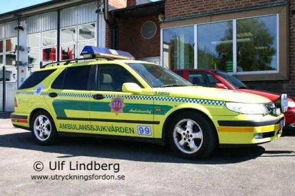 Saab 9-5 Kombi (Befälsbil)