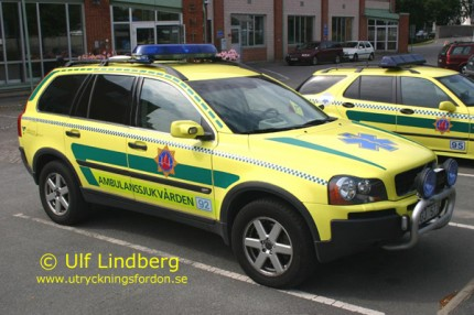 volvo xc90 ambulans
