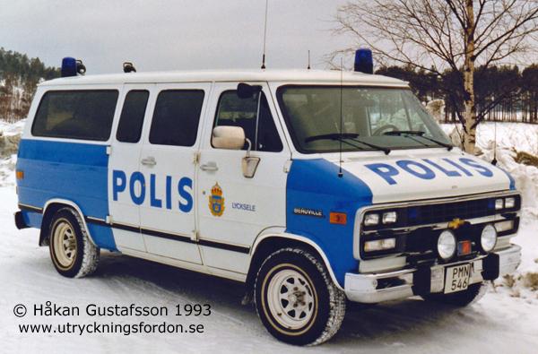 Polisbussar Svensk Utryckningsfordonsf 246 Rening