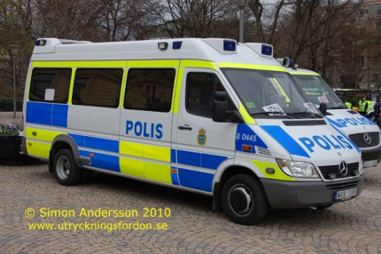 Mercedes-Benz 416 CDI Sprinter (SPT-Arrestbuss)