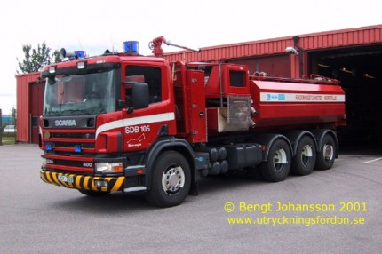 Scania P 124 GB 400 8x4*4