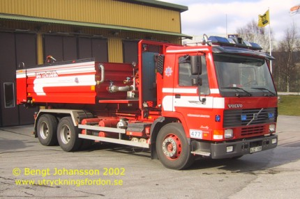 Volvo FL 10 Intercooler 320 6x4
