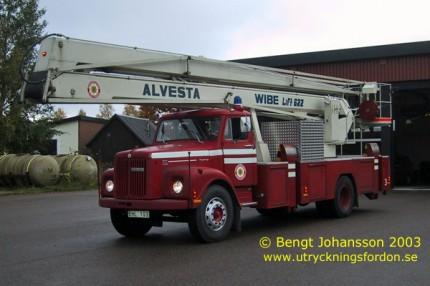 Scania L 80 Super med Wibe-lift 622 (22 m)