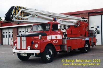 Scania L 80 Super med Nummela Sky-lift NS 22-3 (22 m)