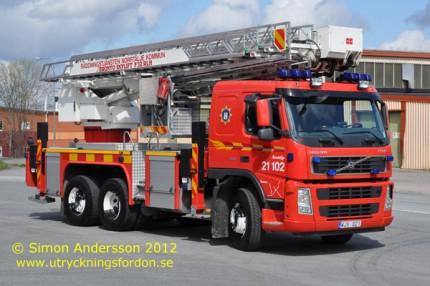 Volvo FM12 380 6x2 / Bronto Skylift F 32 RLH