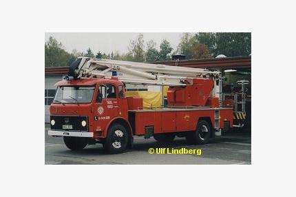 Volvo F 85 med Nummela Sky-lift NS 19-3