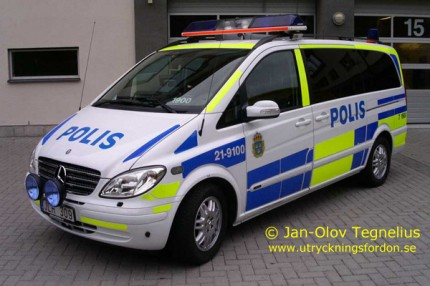 Mercedes-Benz Viano CDI 3,0 (Yttre befäl/Ledningsfordon)