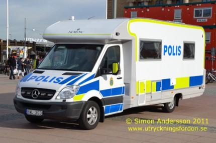 edes-Benz Sprinter Nordic (Mobilt poliskontor)