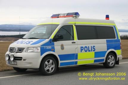 VW T5 Kombi 3,2 4M (Trafik/Ledningsfordon)