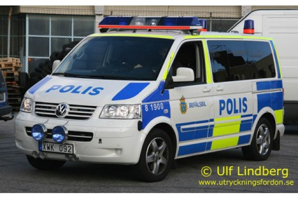 VW T5 Multivan (Yttre befäl/Ledningsfordon)