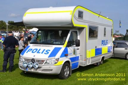 Mercedes-Benz Nordic 316 CDI (Mobilt poliskontor)