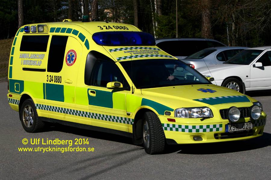 Nilsson S80 Ambulance (Ledningsfordon)